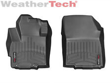 WeatherTech FloorLiner Floor Mats for Mitsubishi Mirage / G4 - 1st Row Black