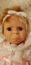 New ListingBerenguer Vintage Crying Baby Doll w/ Eyelet Dress