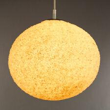 Alte Kunststoff Granulat Pendel Lampe Pille Ufo Leuchte Vintage Lamp 60er 70er