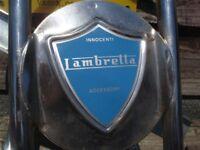 NATIONAL LAMBRETTA style Stickers GP Li Tv etc Benzole
