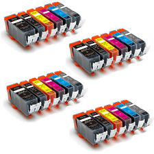24 PK New Ink Set + Chip for PGI-225 CLI-226 Canon Pixma MG6120 MG6220 MG8120