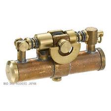 Steampunk Oil Lighter Duke4 Made JAPAN Antique Wild Brass F/S Stylish Japanese