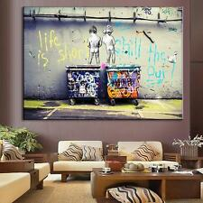 HD HUGE Modern Oil Painting Wall Decor Art poster abstract - Graffiti No Frame