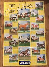 """Breyer Poster """"The Color of Horses"""""""