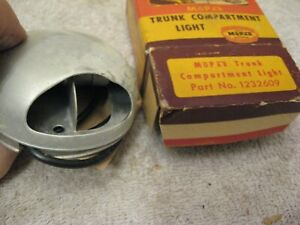 NOS RARE TRUNK COMPARTMENT LIGHT 1946 TO 1952 DODGE PLYMOUTH CHYSLER DESOTO 1