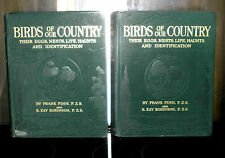 ** Birds of Our Country Their Eggs, Nests, Life, Haunts and ... - 2 vol's