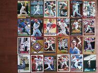 Juan Gonzalez - Assorted Lot of 24 Baseball Cards Texas Rangers