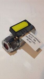 *CHEAP*10mm MINI Lever Isolation Valve Stop Tap Compression 1/4 Turn Gas/Oil/LPG