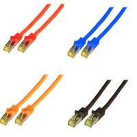 Patch Cable Netzwerkabel Cat 7 10 Gigabit 2/10M PC Laptop Mac TV Receiver Etc