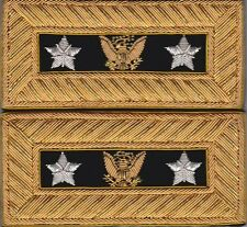 General Sherman and General Sheridan Extra Rich Shoulder Straps w/Free $20 Coin