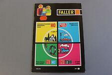 X007 FALLER Train catalogue Ho N 1971 72 Automotor und sport 64 pg 29.5*21 F car