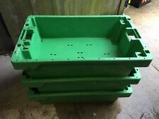 More details for 60 x heavy duty stack/nest storage fish landing boxes 890 x 560 x 235 - 50kg