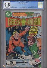 Green Lantern #162 CGC 9.8 DC 1983 Comic: Death in Space NEW CGC FRAME