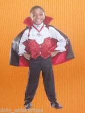 "NEW Halloween Costume Child Small 39"" - 46"" DELUXE Vampire"