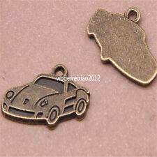 15pc Antique Bronze Charms car Pendant Accessories Bead wholesale PL414