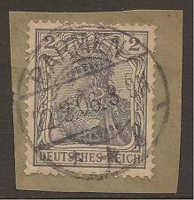 Used Bullseye/SOTN German & Colonies Stamps
