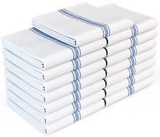 Zeppoli Classic White Kitchen Towels,100% Natural Cotton Dish Towels,14x25 inch
