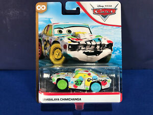"Disney Cars ""Jambalaya Chimichanga"" Thunder Hollow, Blue Desert, NEW Sealed, MOC"