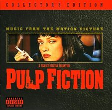 PULP FICTION ( NEW SEALED CD ) ORIGINAL FILM SOUNDTRACK / OST WITH BONUS TRACKS
