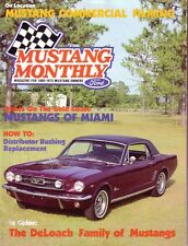 Mustang Monthly September 1984 '65 Coupe '65 GT Convertible Mustangs of Miami