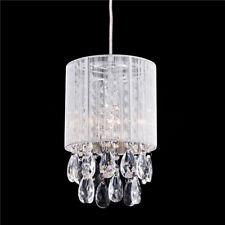 Modern Crystal Drops Pendant Ceiling Lighting Chandelier Lamp Hanging Light