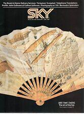DELTA AIRLINES SKY INFLIGHT MAGAZINE JUNE 1989 DL