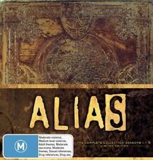 Alias - The Complete Collection : Series 1-5 (DVD, 2008, 30-Disc Set) REGION 2