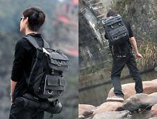 Vintage Canvas DSLR SLR Casual Camera Laptop Bag Backpack For Nikon/Canon/Sony