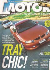 Motor Feb 01 XR8 SS Ute Passat V6 Saab Viggen Mazda SP20 911 Turbo EVO VII