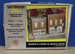 Bachmann Plus (Heljan) 35101 Randy's Candy & Grays Gifts kit HO Sealed Inside