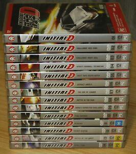 Initial D Battle 1-14 DVD