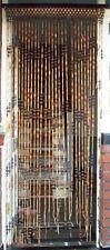 Wood Bead Curtain, Door Room Divider.