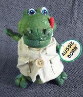 Aussie Born - Crocodile - 16cm - Tag - soft