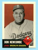1953 Topps Archives #320 Don Newcombe - Brooklyn Dodgers