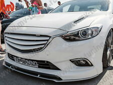 Front Fangs(Pads, Skirts) with Splitter SkyActiv for Mazda 6 / Atenza GJ