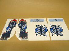 Fox Racing Talas Fork Stickers Decals Genuine Various Models Mtb Xc Am