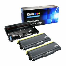 2x TN-360 360 Toner 1x DR-360 Drum For Brother  DCP-7030 DCP-7040 HL-2140