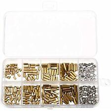 300pcs M2 Brass Standoff Kit Hex Column Spacer Screw Nut Assortment With Box