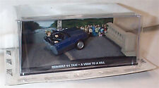 JAMES BOND Renault 11 Taxi A view To A Kill in half New sealed Pack 1:43 scale