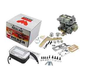For Weber Redline Kit Carburetor Pickup Ram 50 Dodge Caravan Colt Arrow 89 D50