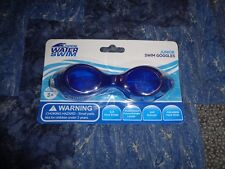 Open Water Swim Junior Goggles Blue New In Sealed Retail Package Free Shipping