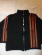 gilet noir orange 12 ans