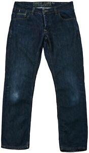 Garcia Men's Jeans Denim Bootcut Casual Blue Cotton Pocket Button Original