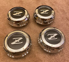 Set of ( 4 ) Datsun 280ZX 1979 - 1980  wheel center caps NEW