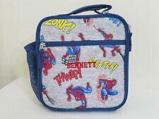 POTTERY BARN KIDS SPIDERMAN SPIDER MAN LUNCH BOX BAG MONOGRAMMED BENNETT