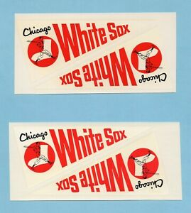 Chicago White Sox Lot of 4 Early 1970's Decals