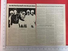 Jimmy Destri Farfisa organ press feature / article from 1978 Blondie