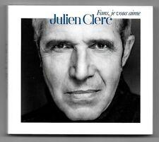 COFFRET 2 CD / JULIEN CLERC - FANS JE VOUS AIME / BEST OF 44 TITRES