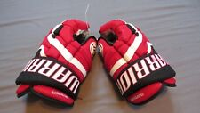 """Used Warrior Covert Pro Stock New Jersey Devils 14"""" Hockey Gloves! Steve Bernier"""
