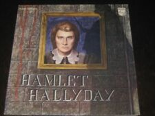 Johnny Hallyday rare '76 1st press 2LP Hamlet on Philips mint-  book + 2 posters